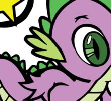 spike the dragon Sticker