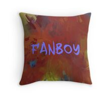 FANBOY - BLUE Throw Pillow