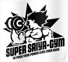 Super Saiya-Gym Poster