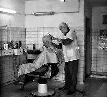 the barber shop by Cadu Lemos