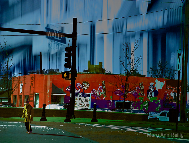 American Bus Stop IV: The Great Depression Redux by Mary Ann Reilly