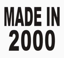 Made in 2000 by Designzz