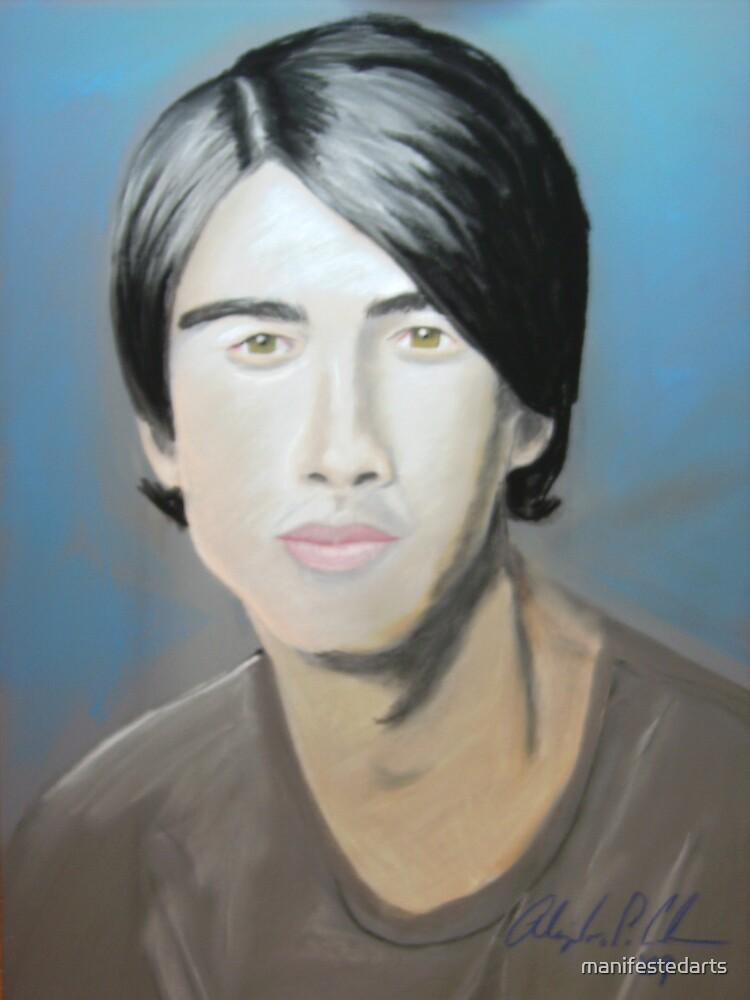 Jonas Brother in pastel by manifestedarts