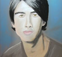 Jonas Brother in pastel by manifestedarts