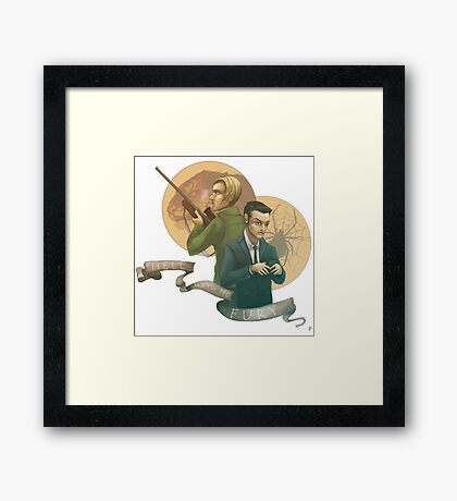Hell Hath No Fury Framed Print
