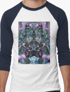 Trip-O-Vision Online Gallery Design 30: flower power Men's Baseball ¾ T-Shirt