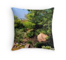 Gentle Streams Throw Pillow