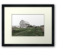 Old Farm Framed Print