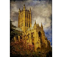 National Cathedral Spring Photographic Print