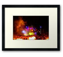 A Very Fantasmic! Dragon Framed Print