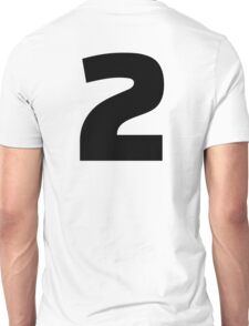 Number 2 two Unisex T-Shirt
