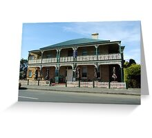 Richmond Arms formerly Commercial Hotel 1888 Greeting Card