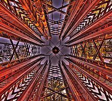 Garvin Gardens Chime Tower by Scott  Remmers