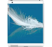 Floating Duck Feather iPad Case/Skin