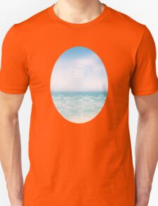 Water waves of sea and ocean Unisex T-Shirt