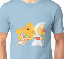 Jolly Holiday with Ditto and Delilah  Unisex T-Shirt