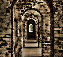 Fort Macon by Sharry Akin