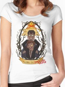 All Hail the Gods Women's Fitted Scoop T-Shirt
