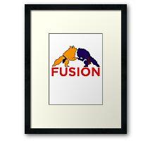 Trunks & Goten - Fusion Framed Print