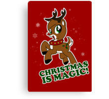 Christmas Is Magic Canvas Print