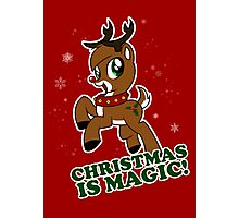Christmas Is Magic Photographic Print