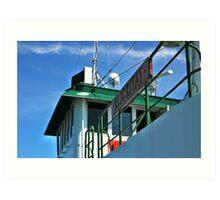 Klikitat Ferry ~ Port Townsend - Keystone, Washington ~ Art Print