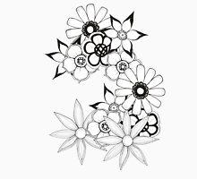 Ink flower patter  Unisex T-Shirt