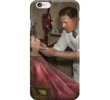 Dentist - Making an impression iPhone Case/Skin
