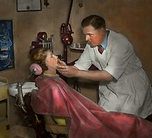 Dentist - Making an impression by Mike  Savad