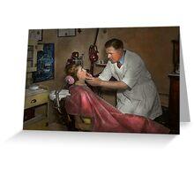 Dentist - Making an impression Greeting Card