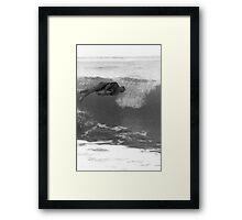 Sleep Surfing Framed Print