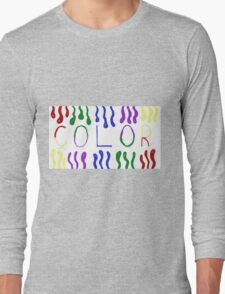 Color Long Sleeve T-Shirt