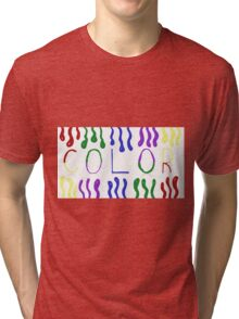 Color Tri-blend T-Shirt