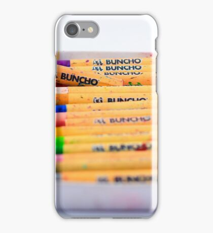 The crayon pencil    iPhone Case/Skin