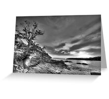 Alone - Balmoral Beach - The HDR Experience Greeting Card