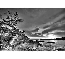Alone - Balmoral Beach - The HDR Experience Photographic Print