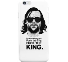The Hound Vs The Crown iPhone Case/Skin