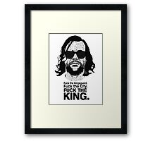 The Hound Vs The Crown Framed Print