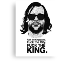 The Hound Vs The Crown Canvas Print