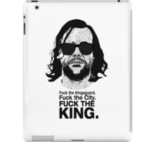 The Hound Vs The Crown iPad Case/Skin