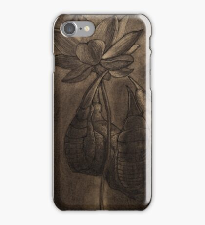 Il drago e il fiore iPhone Case/Skin