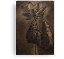 Il drago e il fiore Canvas Print