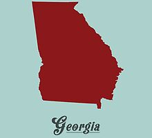 Georgia - States of the Union by Michael Bowman