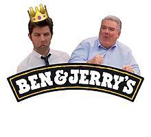Ben & Jerry Photographic Print