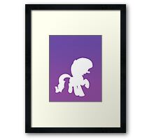 Very Important Pony Framed Print