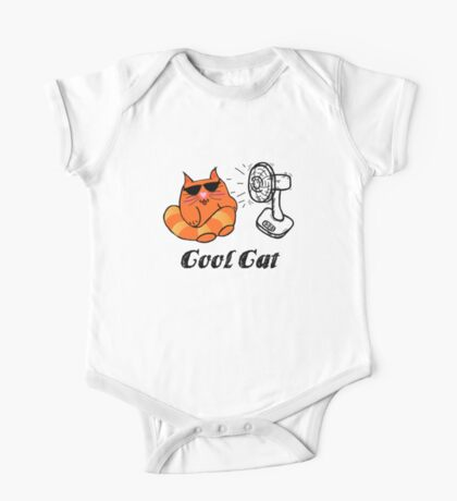 Cool Cat One Piece - Short Sleeve