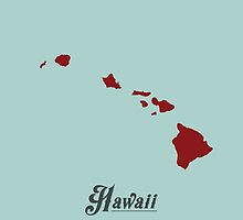 Hawaii - States of the Union by Michael Bowman