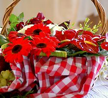 Flower Basket by Kristina K