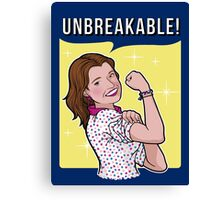 Unbreakable! Canvas Print
