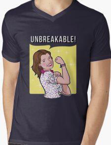 Unbreakable! Mens V-Neck T-Shirt
